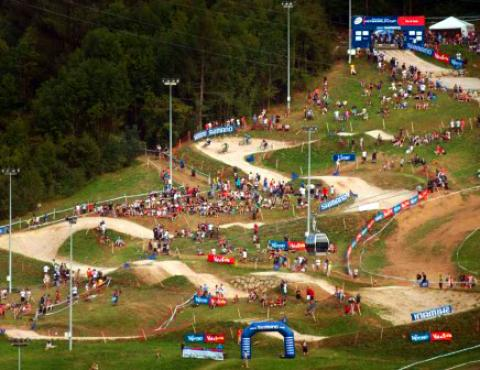 4x World Champs track val di sole