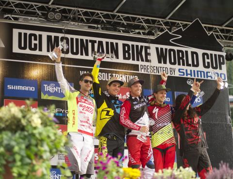 val di sole mtb world cup DH the finals