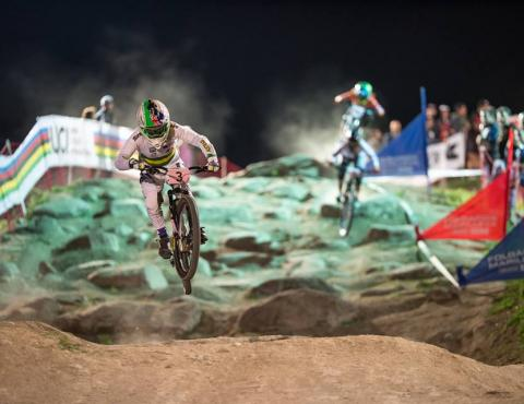 UCI MTB WORLD CHAMPS 4X VAL DI SOLE TRENTINO THE BATTLE