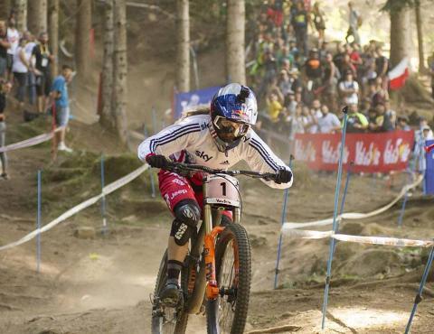 UCI MTB WORLD CHAMPS VAL DI SOLE TRENTINO RACHEL ATHERTON