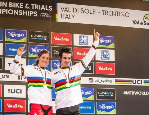 UCI MTB WORLD CHAMPS VAL DI SOLE TRENTINO_THE WINNERS