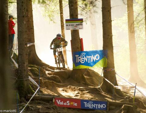 UCI MTB WORLD CHAMPS VAL DI SOLE TRENTINO STEVE PEAT