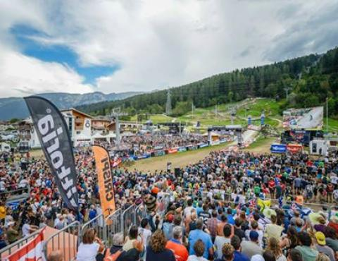 UCI MTB WORLD CHAMPS VAL DI SOLE TRENTINO THE ARENA