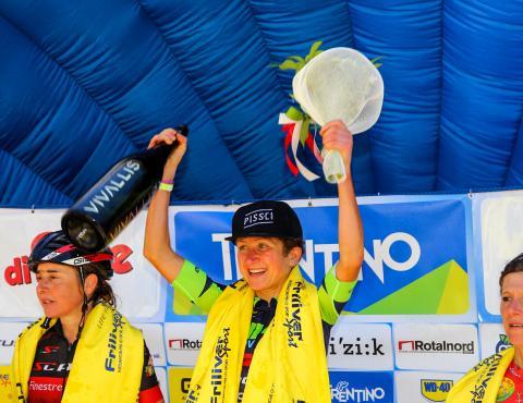 PODIO FEMMINILE VAL DI SOLE MARATHON CAMPIONATO ITALIANO 2017 FOTO RICCARDO MENEGHINI (4)