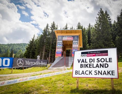 UCI MTB WORLD CUP VAL DI SOLE BLACK SNAKE_Ph. Riccardo Menghini