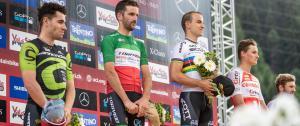 UCI MTB WORLD CUP VAL DI SOLE XCO_Ph. Michele Mondini podium