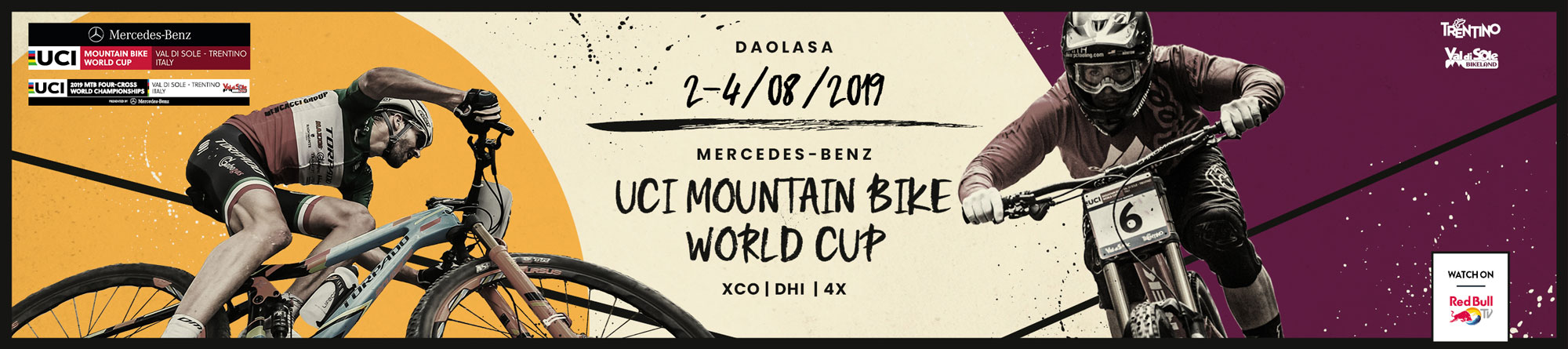 STARTING LISTS & RESULTS - UCI MTB WORLD CUP 2019