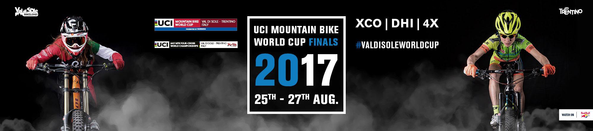 Classifiche - Coppa del Mondo MTB 2017 XCO | DHI | 4X